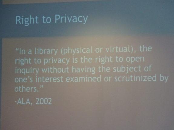 ALA Privacy Statement