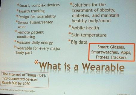 What is a Wearable?