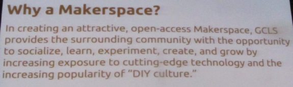 Why a Makerspace?