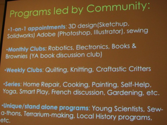 Programs Led By Community Members