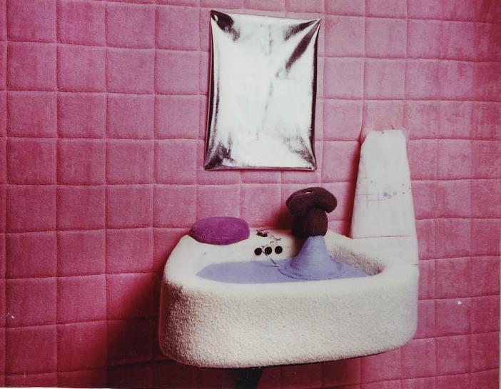 bathroom TV prop