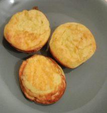 Papanași din brânză de vaci fără prăjire