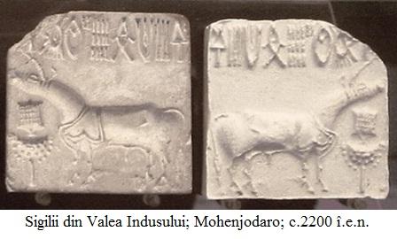 10.2.3.1 Sigilii din Valea Indusului; Mohenjodaro; c.2200 î.e.n.