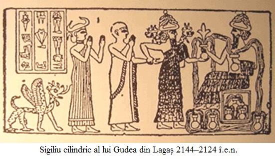 12.2.11.1 Sigiliu cilindric al lui Gudea din Lagaş