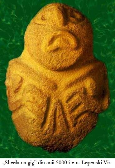"13.5.8.01 ""Sheela na gig"" din anii 5000 î.e.n. Lepenski Vir (Serbia)"