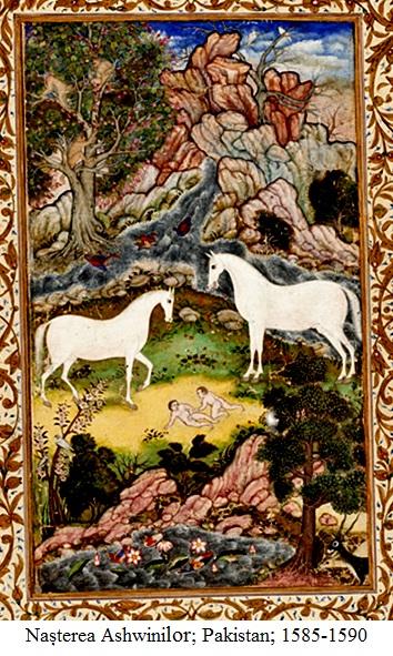 14.2.7.1 Nașterea Ashwinilor; Lahore, Pakistan; 1585-1590
