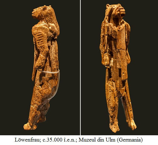 15.2.x.01 Löwenfrau; c.35.000 î.e.n.; Muzeul din Ulm (Germania)