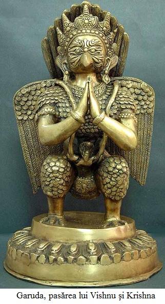 2.3.43 Garuda, pasărea lui Vishnu şi Krishna