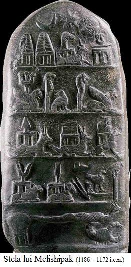 2.9.1.1 Stela lui Melishipak (1186 – 1172 î.e.n.)