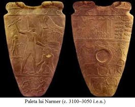 2.9.a Paleta lui Narmer (c. 3100–3050 î.e.n.)