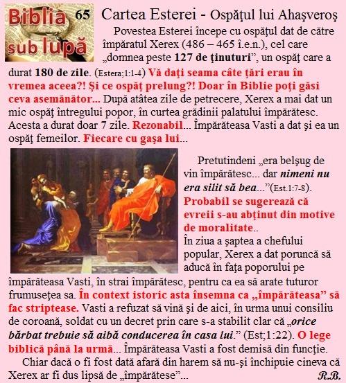 65. Estera - Ospăţul lui Xerex