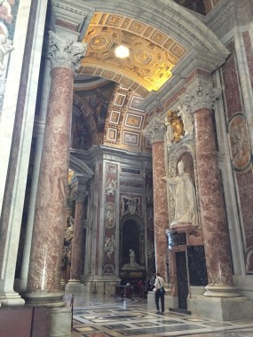 St. Peter's. Luxury, omnipotence, mystery: qualities borrowed for new empires from old (6/7/2017)