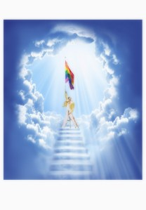 Moles within gay churches also discovered that gay Christians have a weird infatuation with Freddie Mercury greeting them at the entrance of heaven.  Gay legislators also plan to appeal any past decisions that would have resulted in Mercury not being in Heaven.