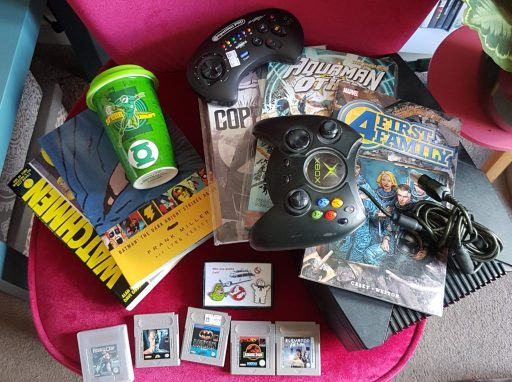 Games and comic tat from NERG