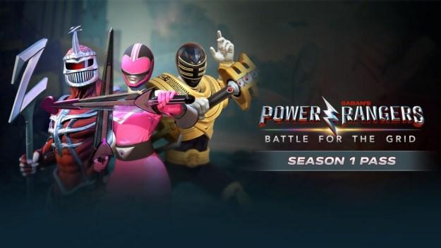 Power Rangers DLC - Season One - Switch