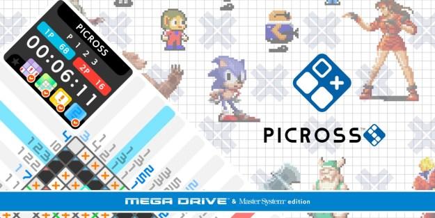 SEGA Picross - August Games