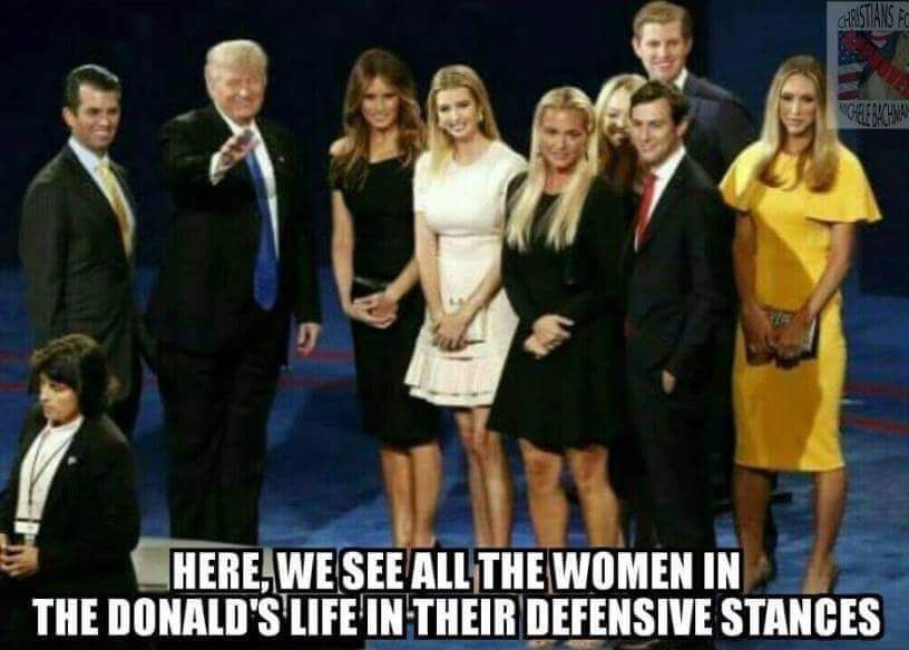 Image result for image trump women standing pussy
