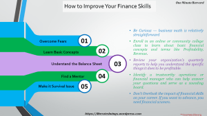 Tips To Improve Your Financial Skills Oneminuteharvard