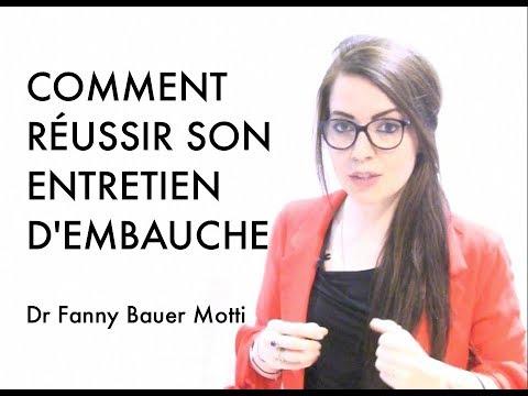 Comment réussir votre entretien d'embauche – Dr Fanny Bauer – Motti