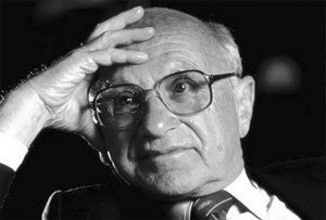 Milton Friedman l'alchimiste du néolibéralisme