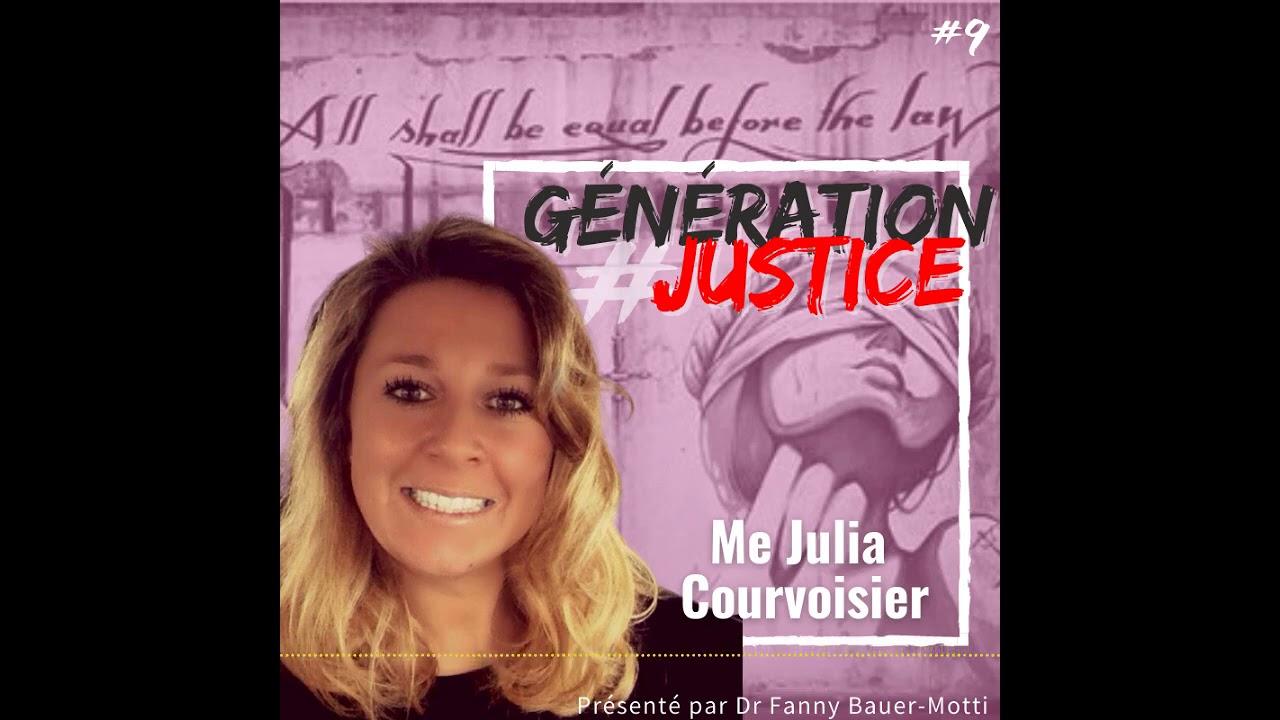 Génération Justice – Julia Courvoisier