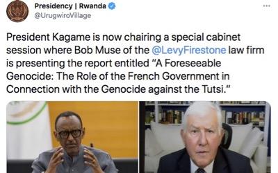 Sortie du rapport rwandais sur le rôle de la France dans le génocide