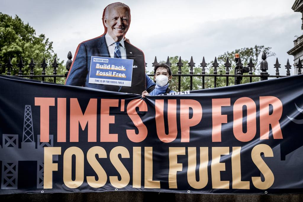 Time's Up for Fossil Fuels