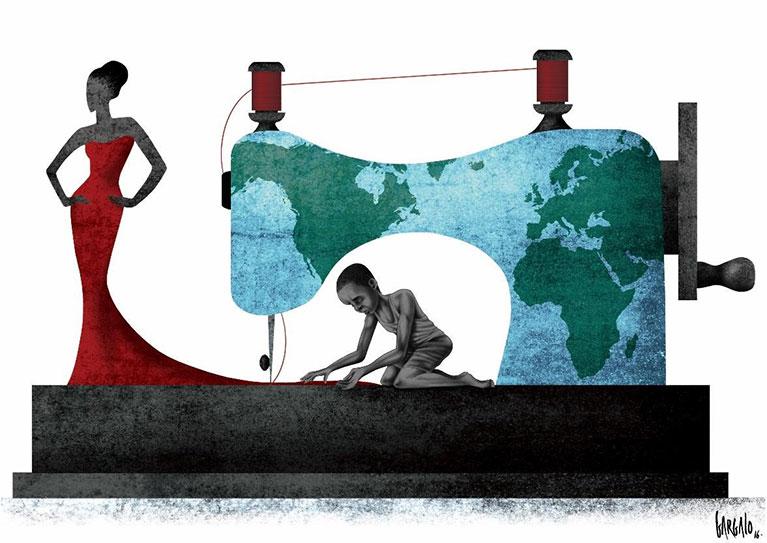 Des dessinateurs du monde entier expriment leur vision du travail forcé