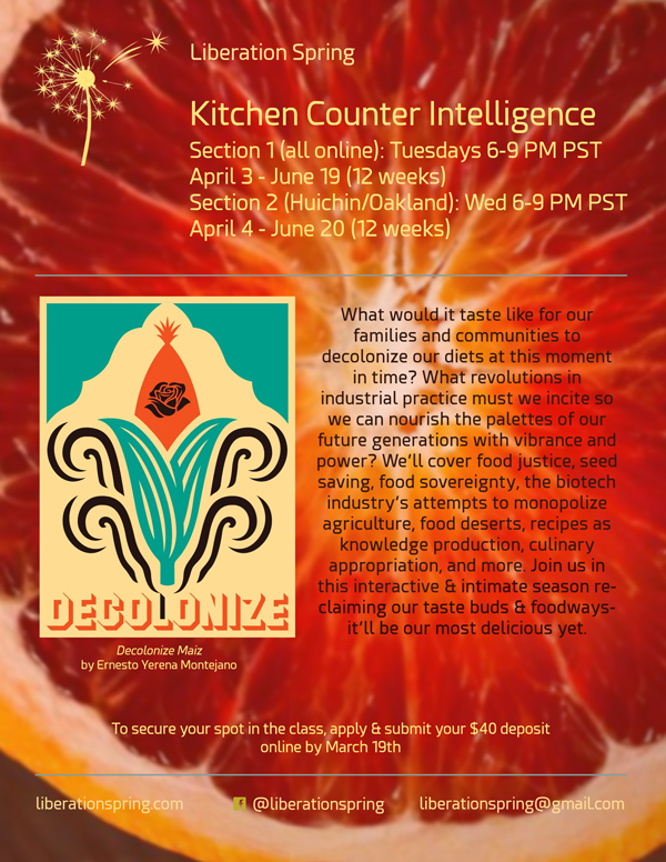 Kitchen Counter Intelligence Flyer