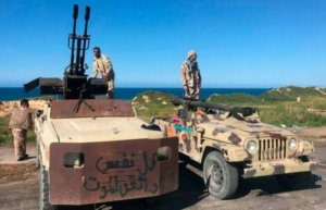 ​Forces in eastern Libya 'seize control of airport'