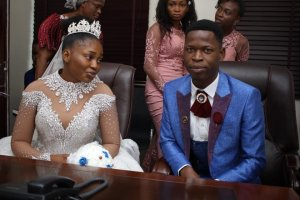 Echoes from Oluwafuminmilola, Godbless Tomone wedding in Warri