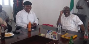 Takeme meets Orubebe, calls for synergy to build a stronger PDP