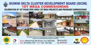 IDCDB: Commissioning of 1st Phase SPDC GMOU Mega Projects and Programs holds Tomorrow