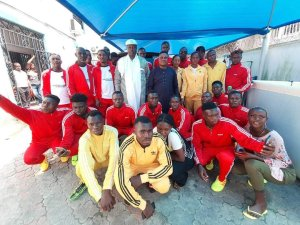 King Agbonu pledges support for Gospenal football academy