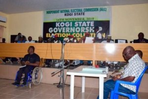 Kogi elections: Results so far announced by INEC