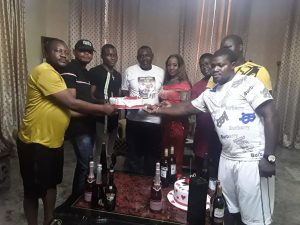 OYIF Takes Boumiebi, Wife On A Surprise Birthday Party – The Liberator
