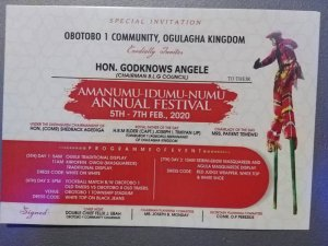 Ogulagha Kingdom: 25 years traditional festival of Obotobo in Delta begins today  – The Liberator