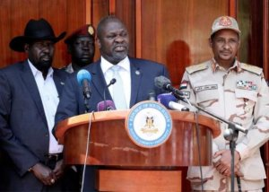 Foreign: South Sudan rebel leader, Riek sworn in as vice president – The Liberator