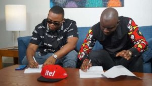 Entertainment: itel Mobile unveils Olamide as brand ambassador, sets new targets – The Liberator