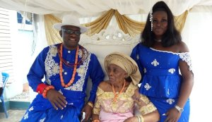 Jubilation As Delta Oil And Gas Commissioner Amgbaduba Celebrates Mother At 86