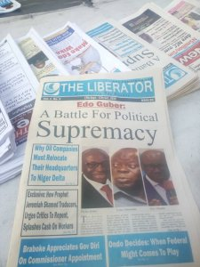 ​The Liberator Newspaper September To October Monthly Edition Hits Newsstands Nationwide