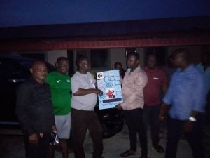 Common Men Assembly Presents Birthday Card To Asupa As Lawmaker Speaks On Leadership