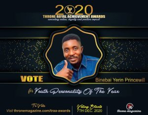 Voting Begins As Liberator Publisher Nominated As Youth Personality Of The Year