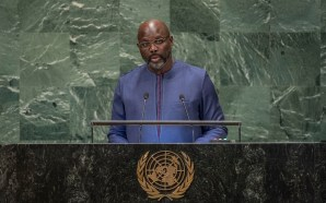 Full Speech of President Dr. George Manneh Weah at the…