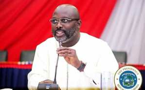 President George Manneh Weah declars free University tuition for Students