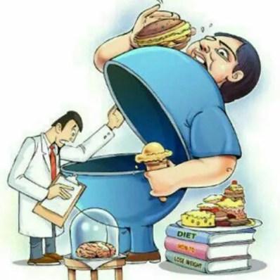 uomo con stomaco aperto visitato dal medico