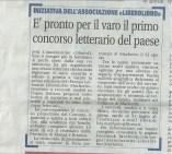 Articolo del 25 febbraio 2014, Giornale di Carate