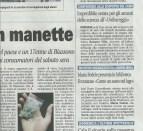 Articolo dell'8 aprile 2014, Giornale di Carate