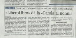 Articolo del 5 agosto 2014, Giornale di Carate