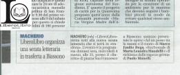 Articolo del 3 marzo 2015, Giornale di Carate